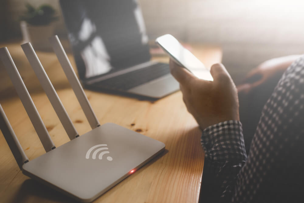 rebooting Wireless Router